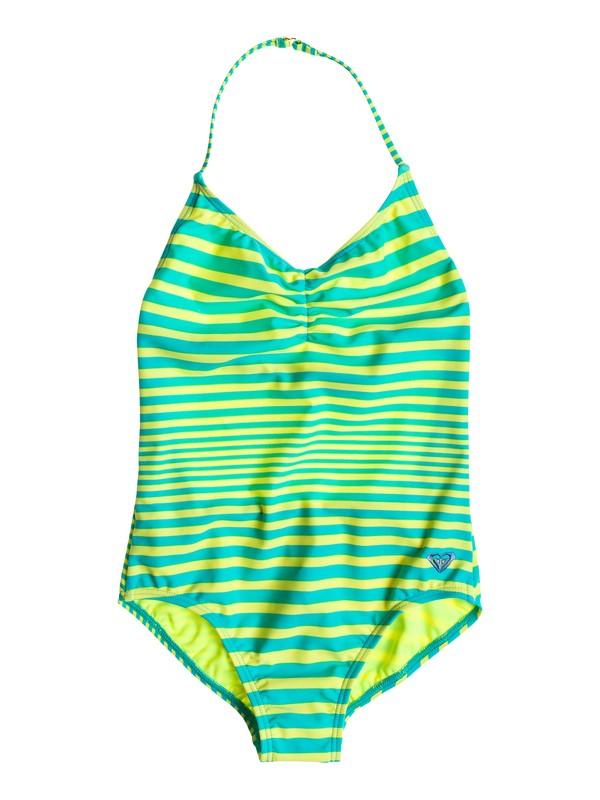 0 V Neck Onepiece - One Piece V-Neck Swimsuit  ARGX103002 Roxy