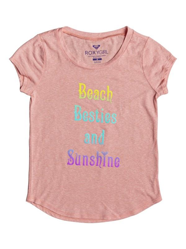 0 Beach Besties - Cap Sleeve T-Shirt  ARGZT03144 Roxy