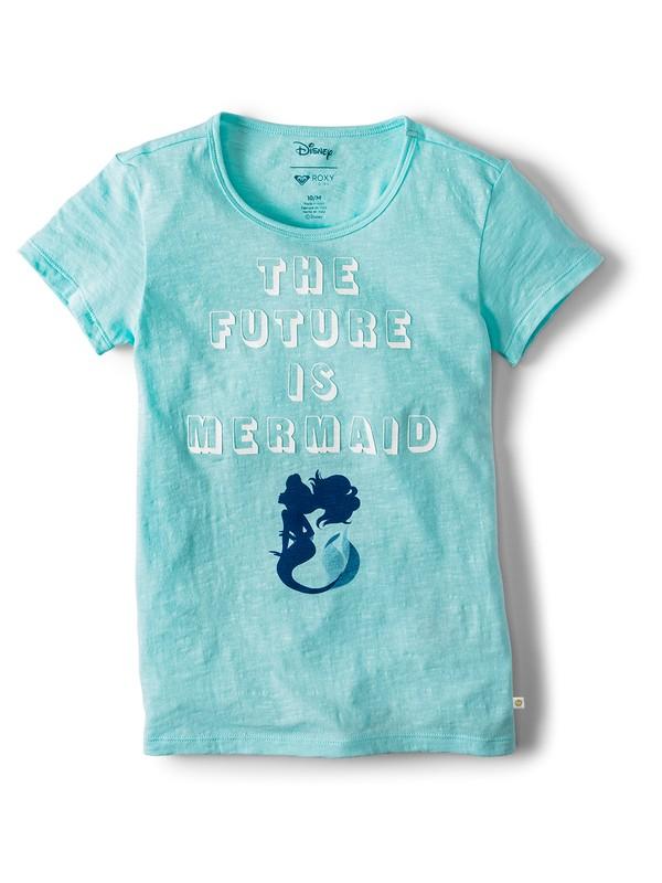 0 Girl's 7-14 Ariel Stars Dont Shine T-Shirt Blue ARGZT03333 Roxy