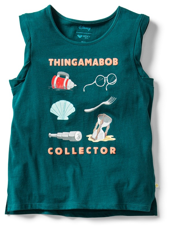 0 Ariel Thingamabob Collector Tank Top Blue ARGZT03382 Roxy