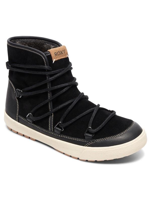 0 Darwin - Faux-Fur Lined Boots for Women Black ARJB300017 Roxy