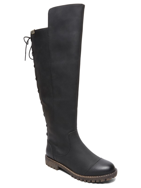 0 Bonny Over Knee Boots Black ARJB700581 Roxy
