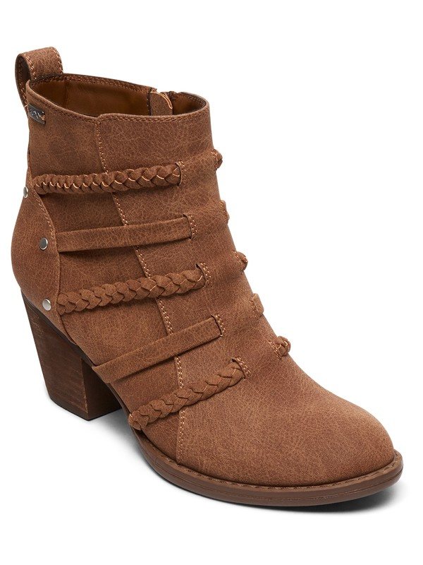 0 Mackay Heeled Boots Beige ARJB700595 Roxy