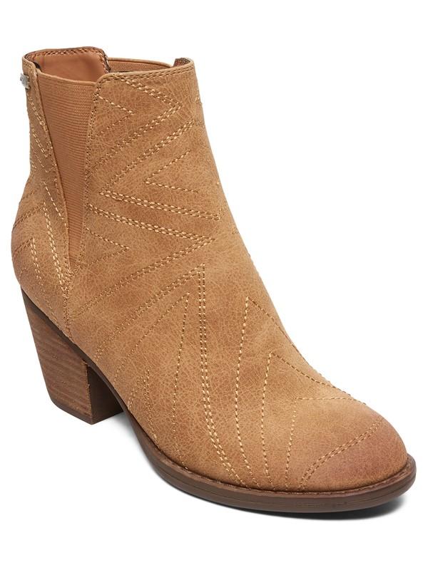 0 Randall Heeled Boots Beige ARJB700613 Roxy