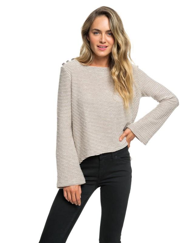 0 Free Thinking Sweater Beige ARJFT03574 Roxy
