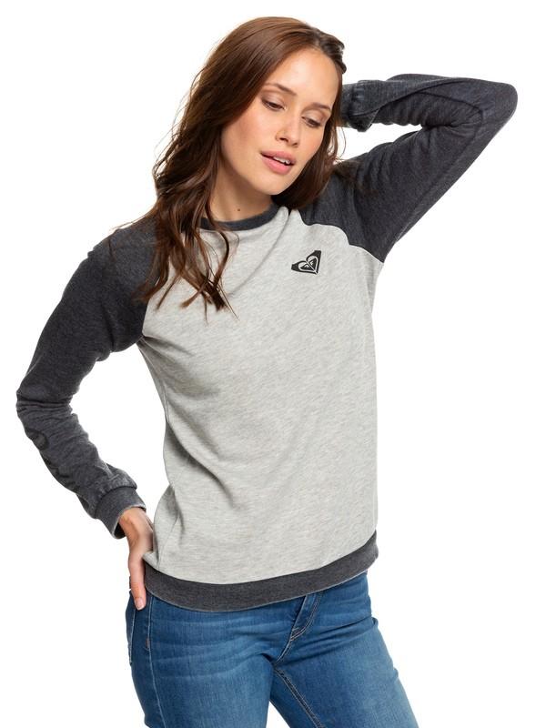 0 Palm Bazaar - Sweatshirt for Women Black ARJFT03585 Roxy