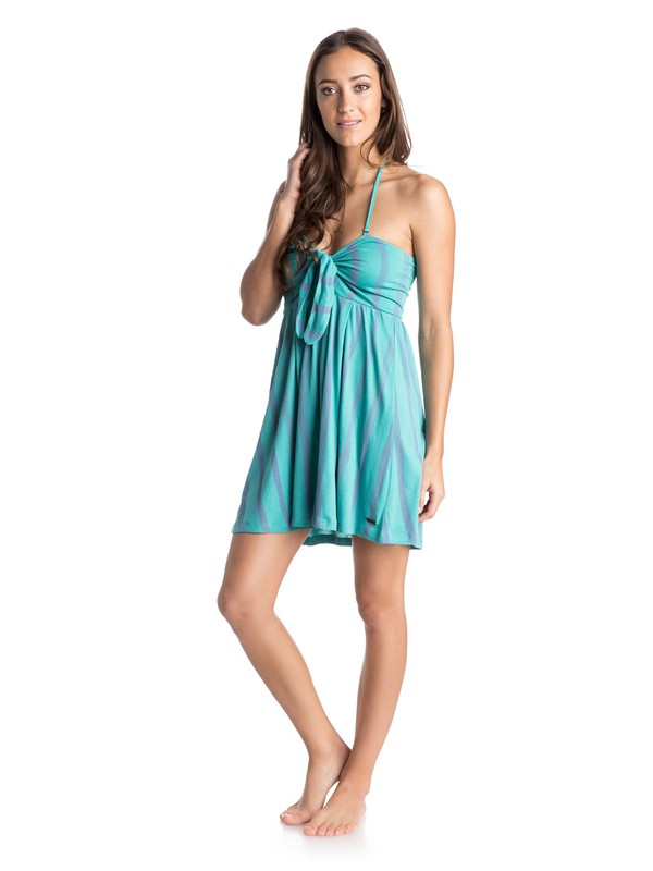 0 Paradise Cove Halter Dress  ARJKD03061 Roxy