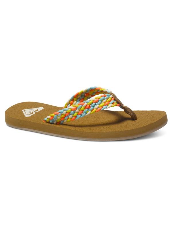 0 Porto - Sandals for Women Orange ARJL100397 Roxy