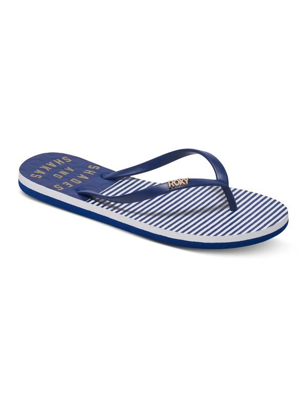 0 Viva Stamp - Chancletas para Mujer Azul ARJL100543 Roxy