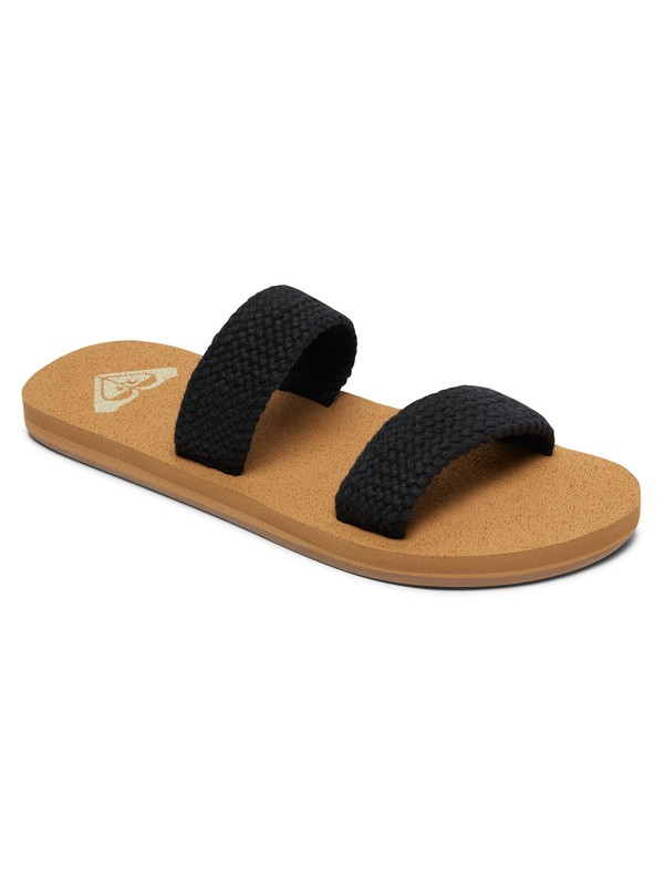 0 Sanibel Sandals Black ARJL100651 Roxy