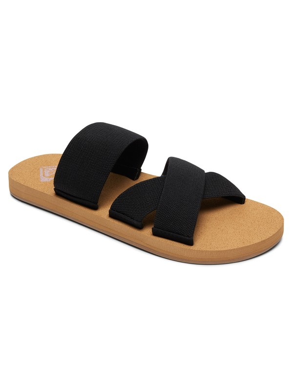 0 Shoreside Criss-Cross Sandals Black ARJL100656 Roxy
