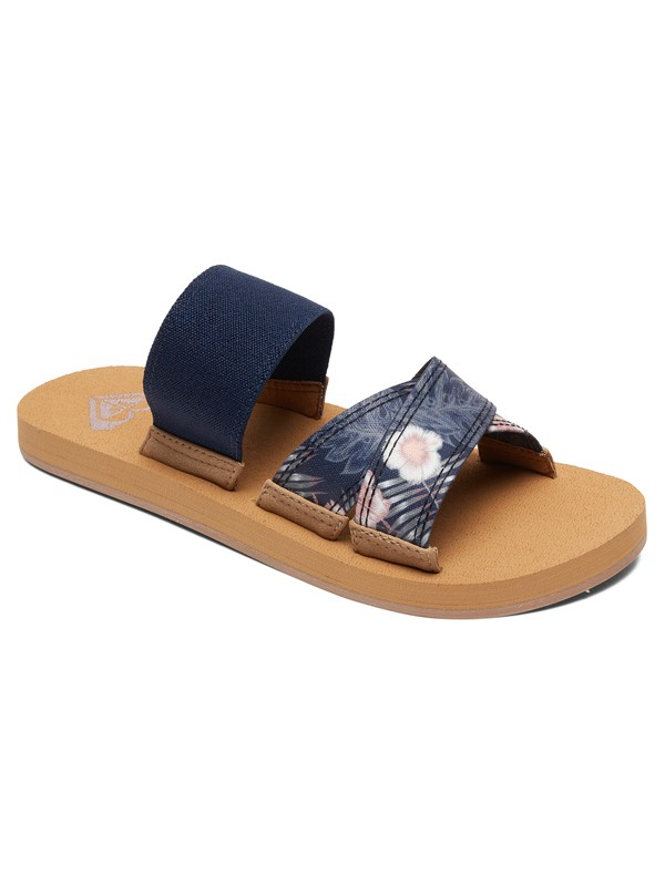 0 Shoreside Criss-Cross Sandals Blue ARJL100656 Roxy