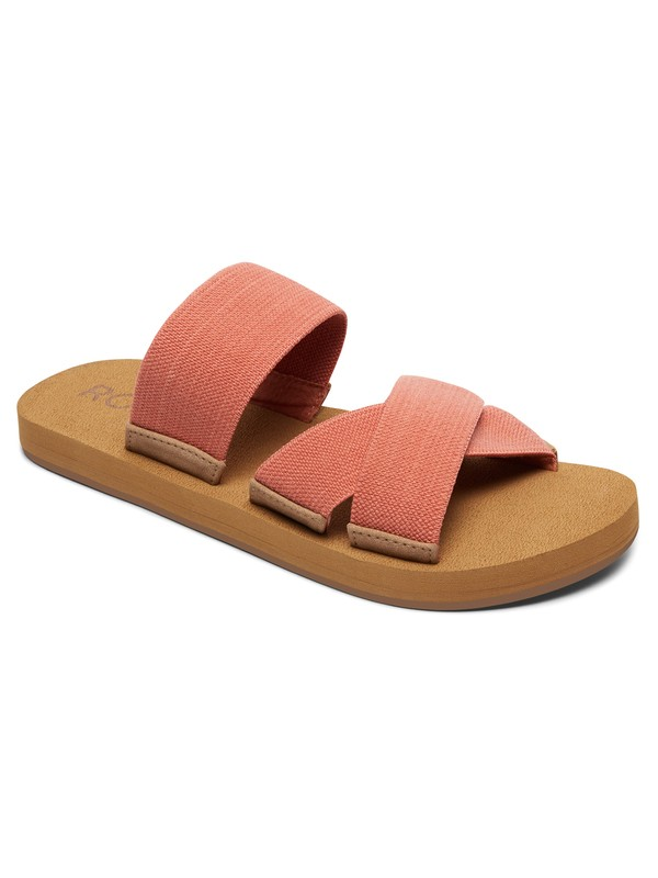 0 Shoreside Criss-Cross Sandals Pink ARJL100656 Roxy