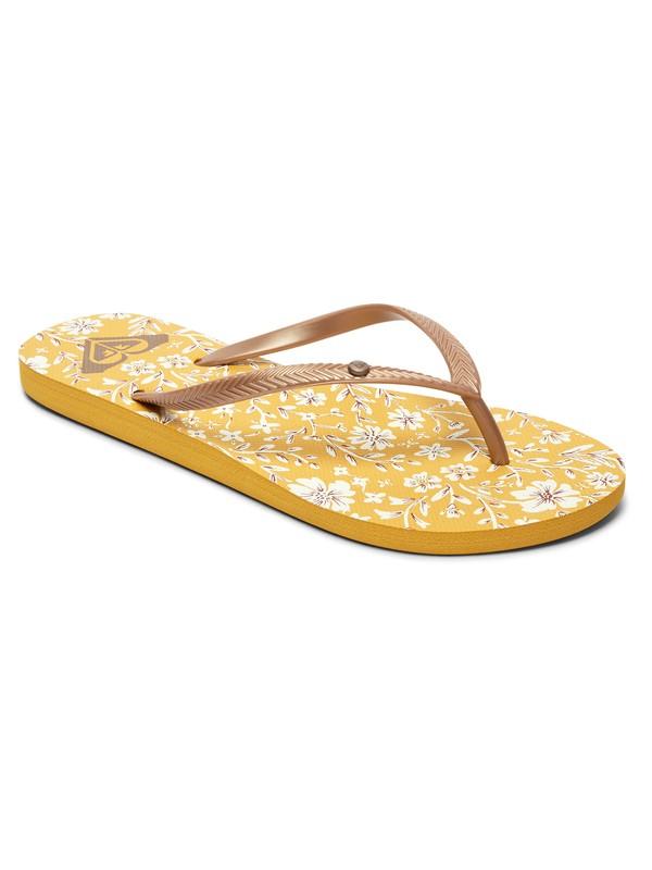 0 Bermuda Flip-Flops Yellow ARJL100664 Roxy