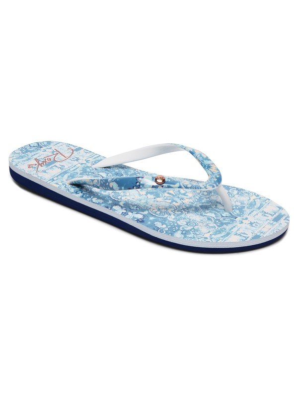 0 Portofino - Chancletas para Mujer Azul ARJL100668 Roxy