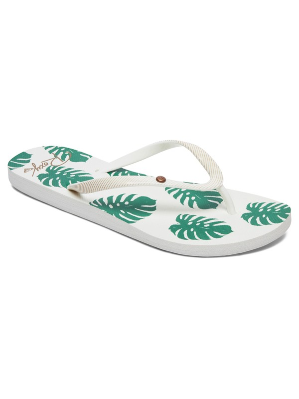 0 Portofino Flip-Flops Green ARJL100668 Roxy