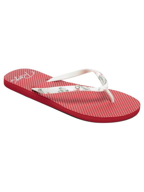 0 Sandalias Tipo Flip Flops Portofino Rojo ARJL100668 Roxy