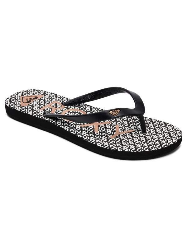 0 Sandalias Tipo Flip Flops Tahiti Negro ARJL100669 Roxy