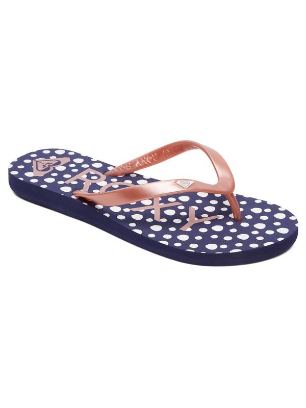 0 Sandalias Tipo Flip Flops Tahiti Azul ARJL100669 Roxy