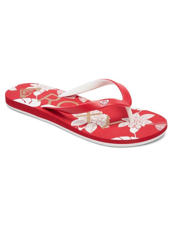 0 Tahiti Flip-Flops Red ARJL100669 Roxy
