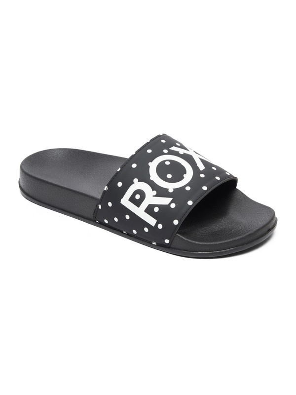 0 Slippy Sliders Black ARJL100679 Roxy