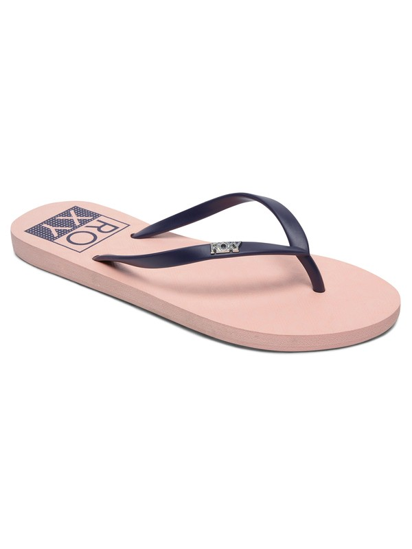 0 Viva Stamp - Tongs pour Femme Rose ARJL100683 Roxy