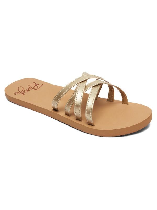 0 Abbie Sandals Brown ARJL100749 Roxy