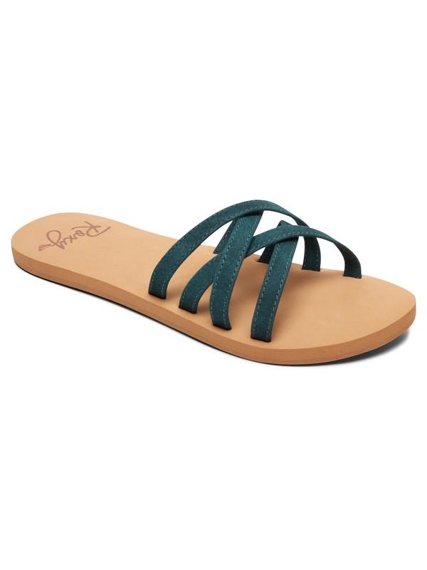 0 Abbie Sandals Green ARJL100749 Roxy