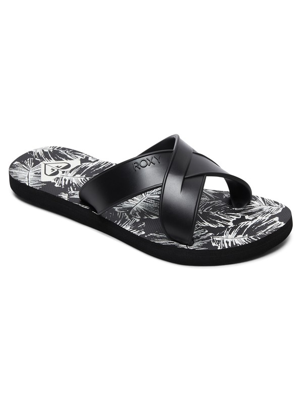 0 Carilo Criss-Cross Sandals Black ARJL100767 Roxy