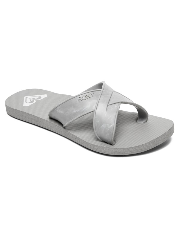 0 Carilo Criss-Cross Sandals Grey ARJL100767 Roxy