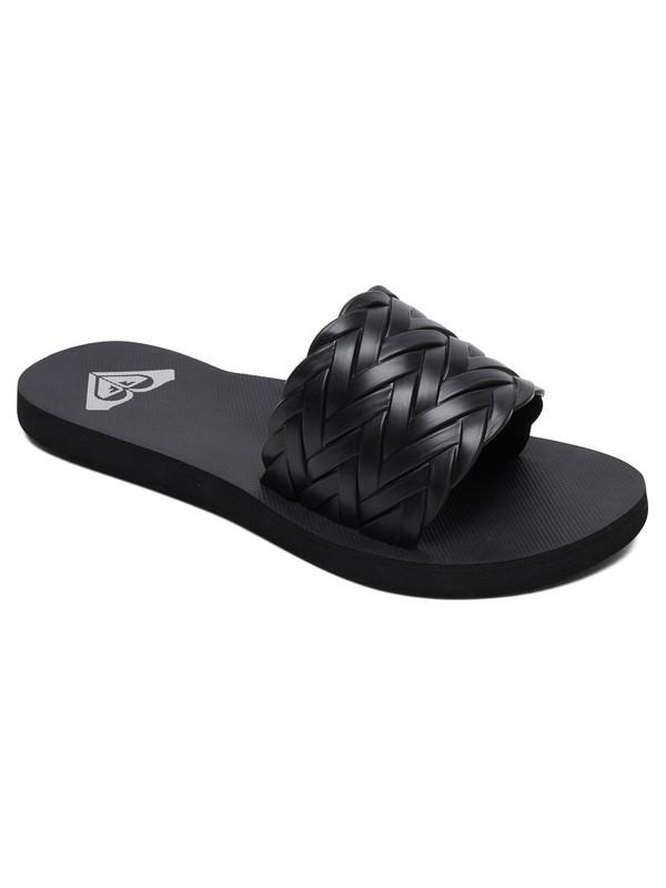 0 Kirbi Slider Sandals Black ARJL100768 Roxy