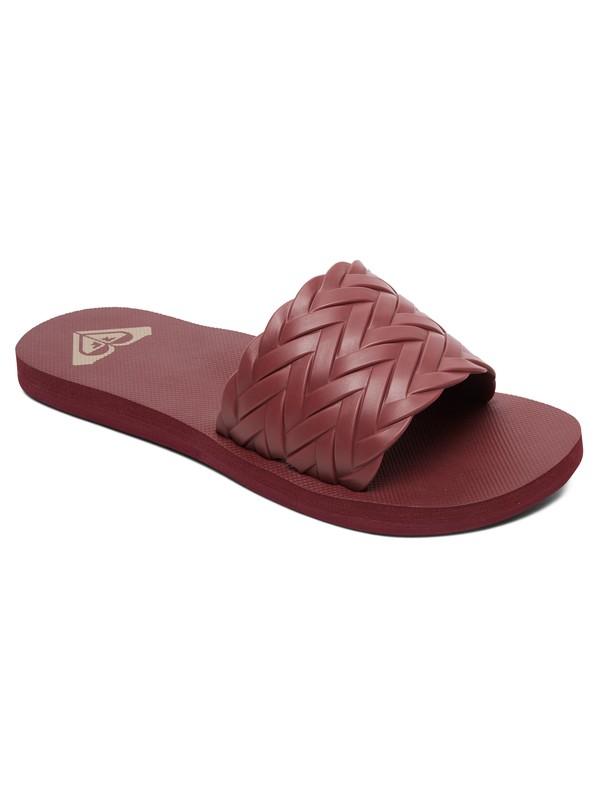 0 Kirbi Slider Sandals Red ARJL100768 Roxy