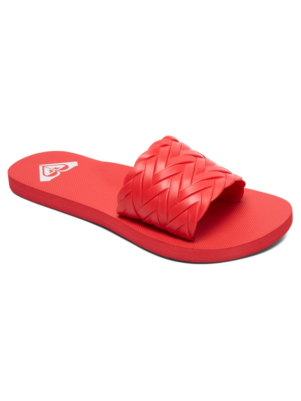 0 Kirbi Slider Sandals Red ARJL100768 Roxy