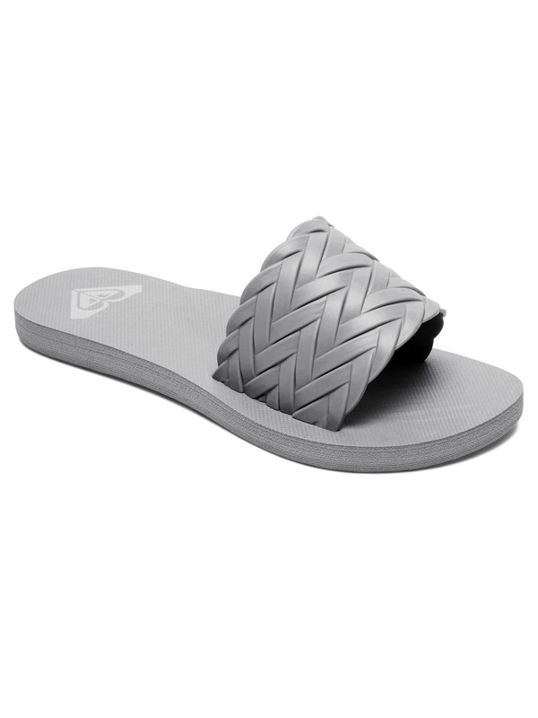0 Kirbi Slider Sandals Grey ARJL100768 Roxy