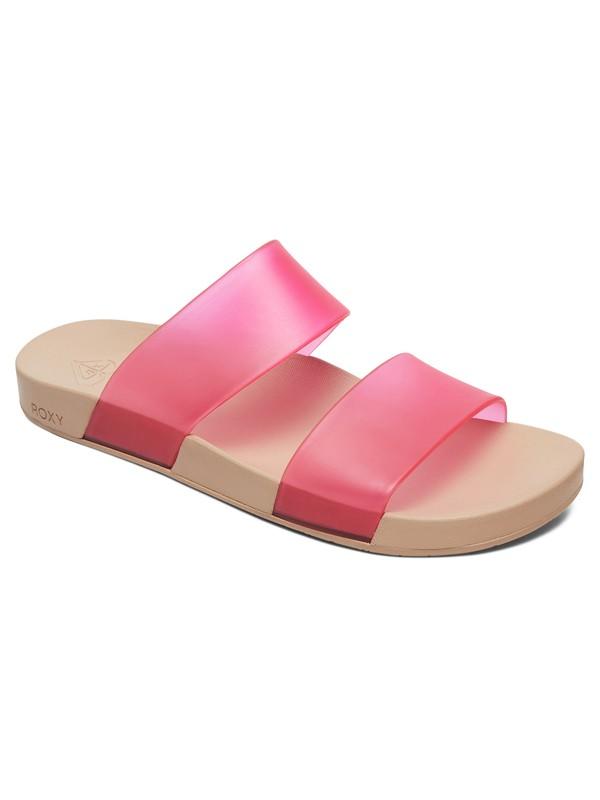 0 Lonee 2 Strap Sandals Pink ARJL100770 Roxy