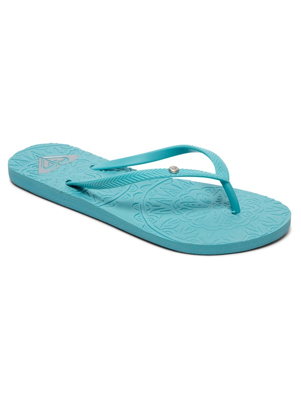 0 Antilles Flip-Flops Blue ARJL100798 Roxy