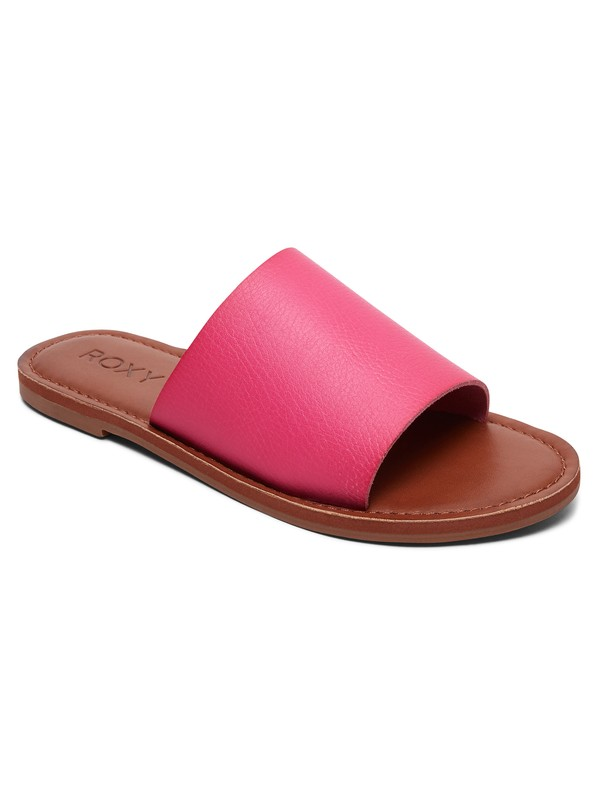 0 Kaia Slide Sandals Pink ARJL200654 Roxy