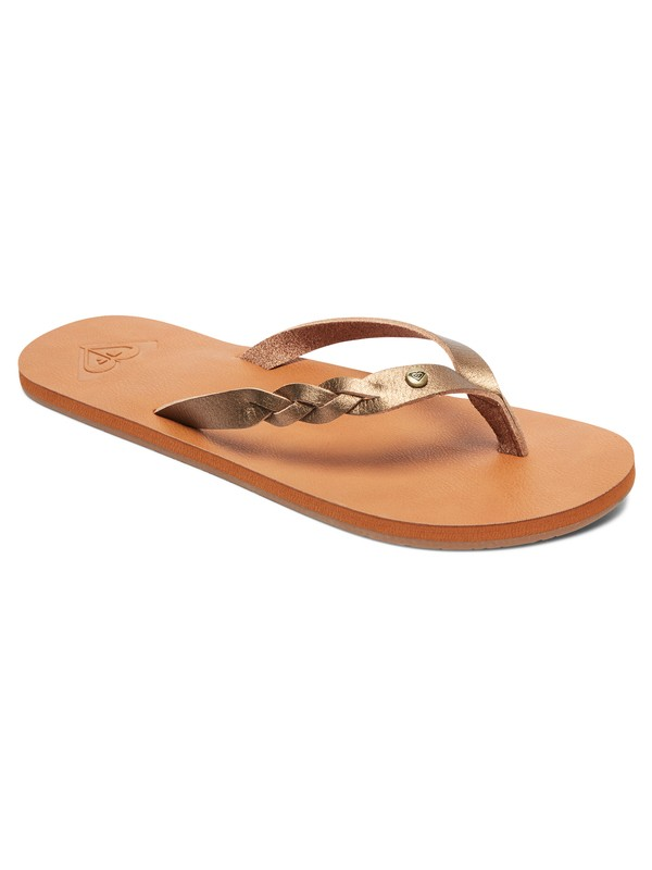 0 Sandalias Tipo Flip Flops Liza Marrón ARJL200667 Roxy