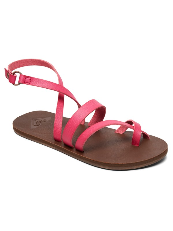 0 Rachelle Sandals Pink ARJL200680 Roxy