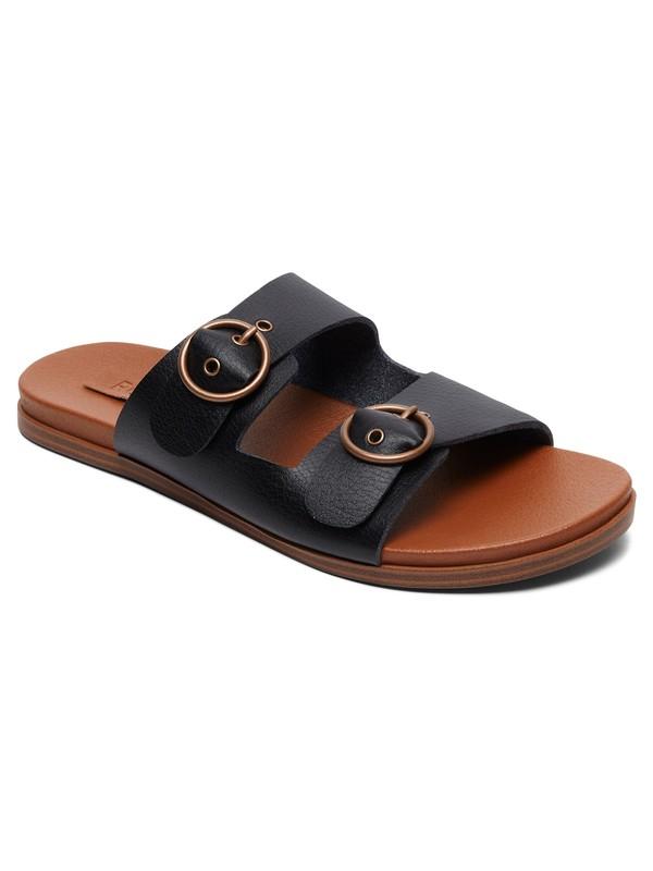 0 Neena Buckle Sandals Black ARJL200686 Roxy