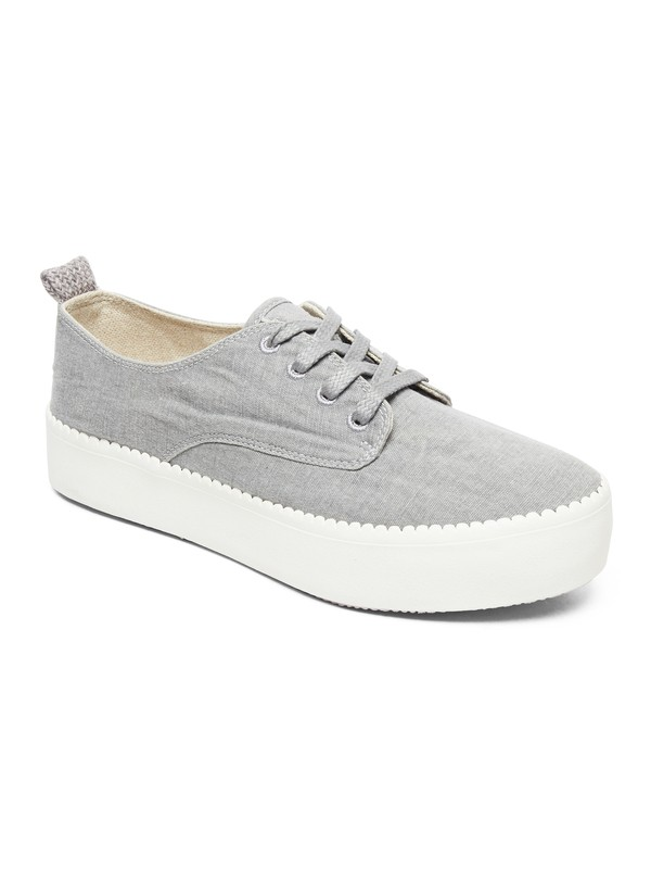 0 Shaka Platform Shoes Grey ARJS300312 Roxy