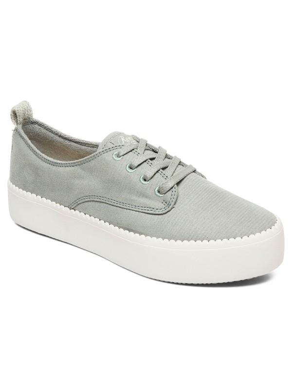 0 Shaka - Chaussures à plateforme pour Femme Vert ARJS300312 Roxy