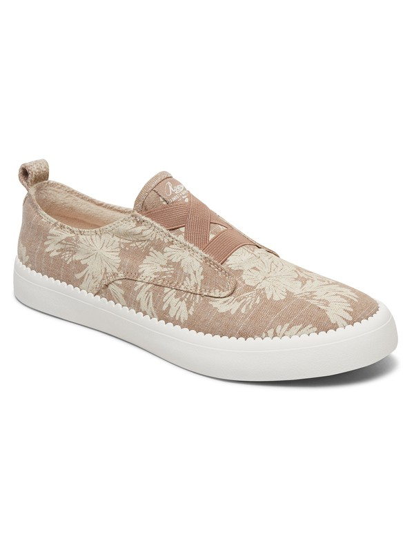 0 Shaka Elastic Slip-On Shoes Beige ARJS300321 Roxy