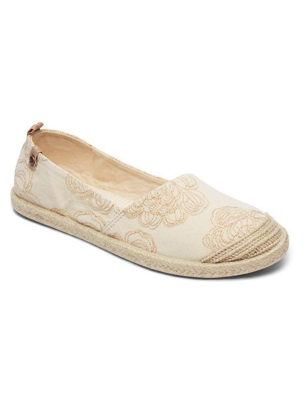 0 Flora - Baskets pour Femme Blanc ARJS600412 Roxy