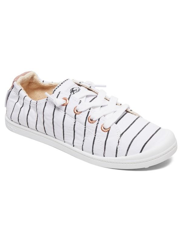 0 Zapatos Bayshore Blanco ARJS600418 Roxy
