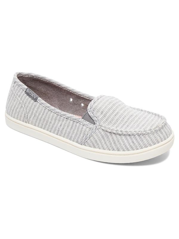 0 Minnow Slip-On Shoes Grey ARJS600433 Roxy