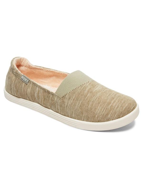 0 Danaris Slip-On Shoes Green ARJS600459 Roxy