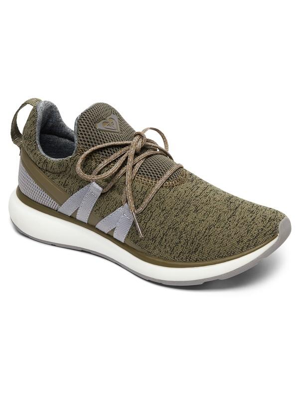 0 Set Seeker Shoes Green ARJS700123 Roxy