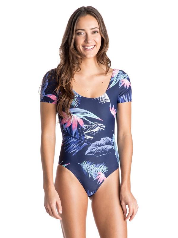 0 Tropical Getaway One Piece Swimsuit  ARJWR03048 Roxy