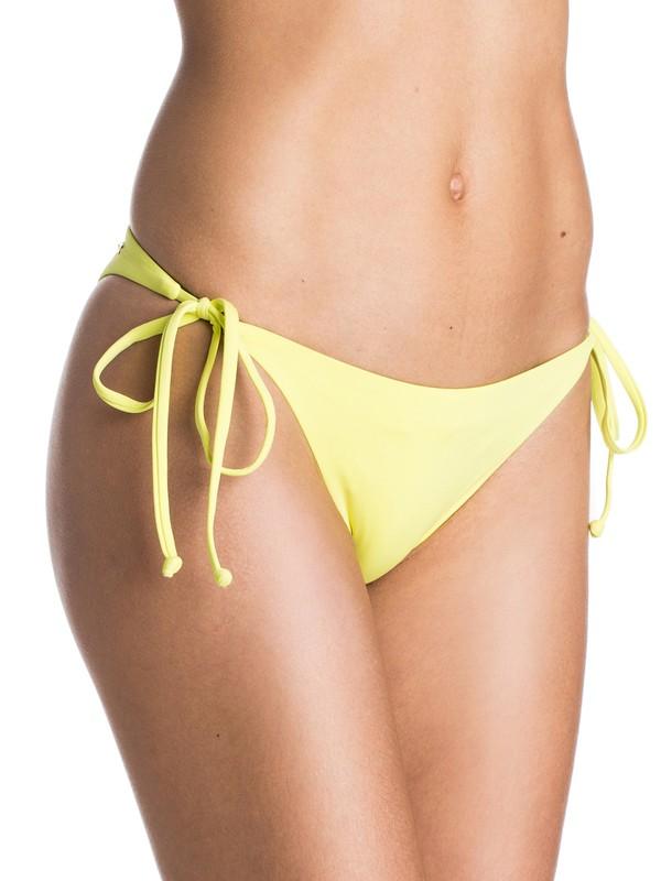 0 Girls Just Wanna Have Fun Mini Tie Side Bikini Bottoms  ARJX403069 Roxy